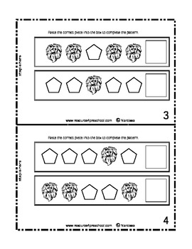 L is for Lion - Basic Alphabet plus Curriculum - Learning Center Printables
