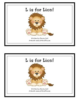 L is for Lion! guided reader