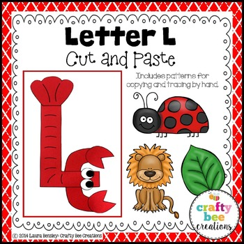 Letter L Craft {Lobster}