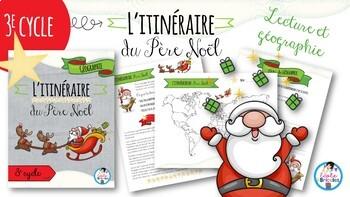 L'itinéraire du Père Noël
