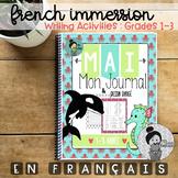French Immersion Writing Activities première à troisième année  (L'océan)