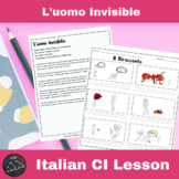 L'uomo Invisible - a Comprehensible Input lesson for Italian learners