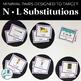 L vs. N Minimal Pairs Flashcards