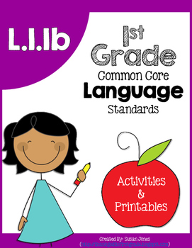 L1.1b: Common, Proper, and Possessive Nouns