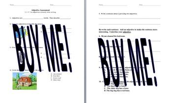 L1.1f Adjective Assessment