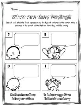 L1.1j: Types of sentences