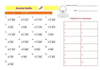 L1 Mental Math
