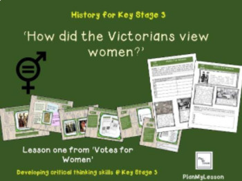L1 Votes for Women:  'How did the Victorians view women?'