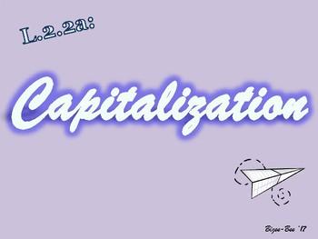 Capitalization NO PREP