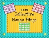 L.2.1(a) Collective Nouns BINGO Games