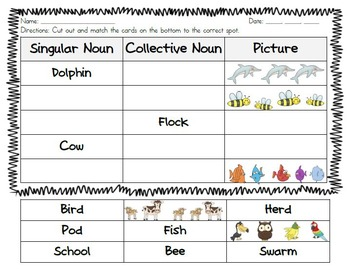 L.2.1(a) Collective Nouns Unit