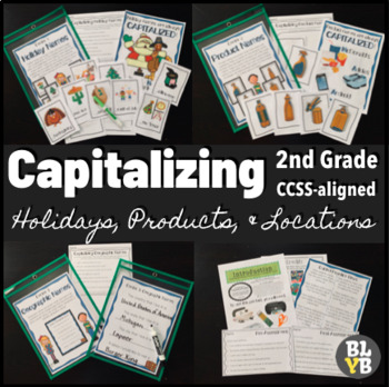 L.2.2a Capitalizing Holidays, Product Names, & Geographic