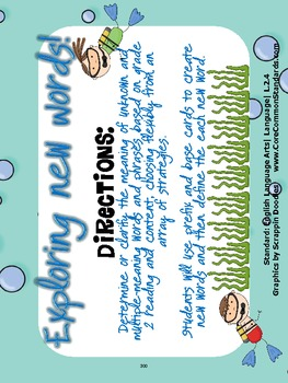 L.2.4 Second Grade Common Core Worksheets, Activity, and Poster