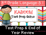 Test Prep & End of The Year Third Grade Language Review Ga