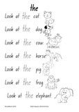 L3 Literacy Centre /Station- High Frequency Words Sight Words Worksheets