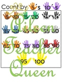 L3-U3 Count by 2s, 5s,10s Charts and Groups of 10s Chart