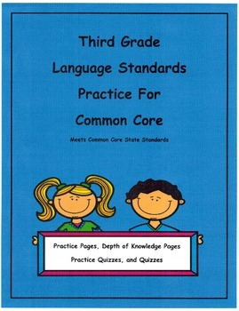 L3.1c Use Abstract Nouns Practice Pages, Quizzes, Depth of