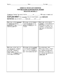 L3.6 Journeys Unit 5 Lesson 25 Vocabulary Homework Supplem