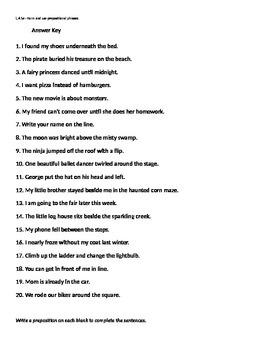 L.4.1e Prepositions and Prepositional Phrases
