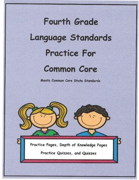 L4.2b Quotation Marks  Practice Pages and Quizzes For 4th Grade