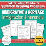 L4LL Summer Reading Program Week 5: Immigration & Heritage