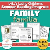 L4LL Summer Reading Program Week 2: Family/Familia