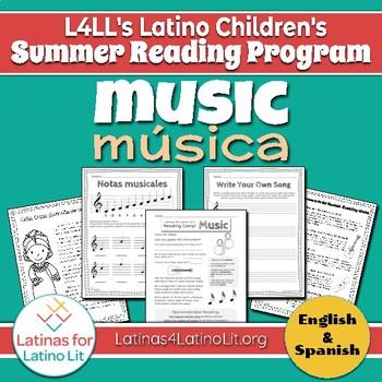 L4LL Summer Reading Program Week 6: Music/Música