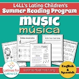 L4LL Summer Reading Program Week 6: Music/Música