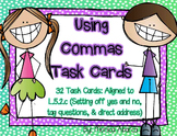 L.5.2.C - Using Commas (5th Grade CCSS Aligned)