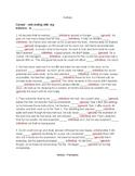 L8.1a Verbals - Homework Worksheets