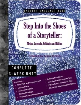 Myths and Legends Short Story Unit - COMPLETE UNIT