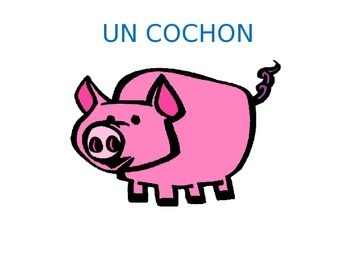 LA CAMPAGNE & LA FERME:  Vocab on Animals & Things found at the Countryside/Farm