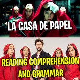 LA CASA DE PAPEL (MONEY HEIST) - Reading Comprehension