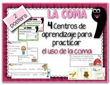 LA COMA: 4 centros de aprendizaje para practicar el uso de