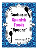 "LA COMIDA/ FOOD VOCABULARY ""CUCHARAS"" (Spoons)"