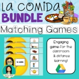 LA COMIDA - Spanish Food Matching Games ***BUNDLE***