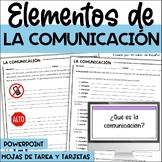 LA COMUNICACIÓN - Elementos de la Comunicación