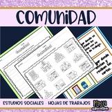 LA COMUNIDAD   Community in SPANISH