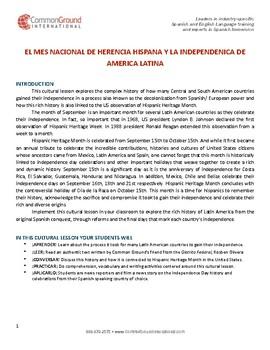 LA DESCOLONIZACIÓN DE AMÉRICA LATINA: SU INDEPENDENCIA