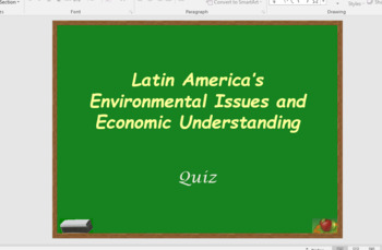 LA Environmental Issues and Economic Forces