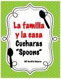 """LA FAMILIA Y LA CASA """"CUCHARAS"""" (Spoons)"""