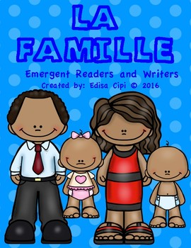 LA FAMILLE- MULTIRACIAL FAMILY IN FRENCH