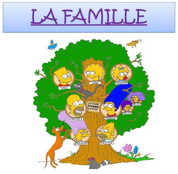 LA FAMILLE: French Family and Pets