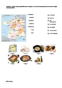 LA FRANCE - Sa culture - sa langue - ses plats typiques