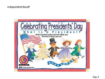 LA Guidebooks-Duck for President-Lesson 5 Day 2-First Grade