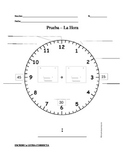 LA HORA / TIME (telling time) QUIZ
