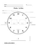 LA HORA / TIME (telling time) QUIZ