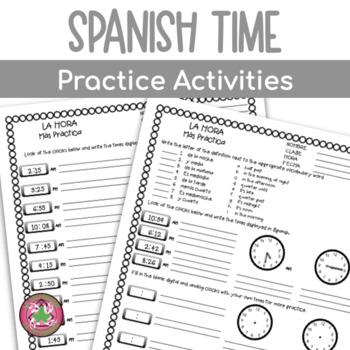 LA HORA - Time Practice