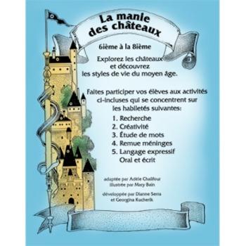 LA MANIE DES CHATEAUX Gr. 6-8