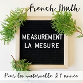 LA MESURE: French Measurement Activity Centres and Printables